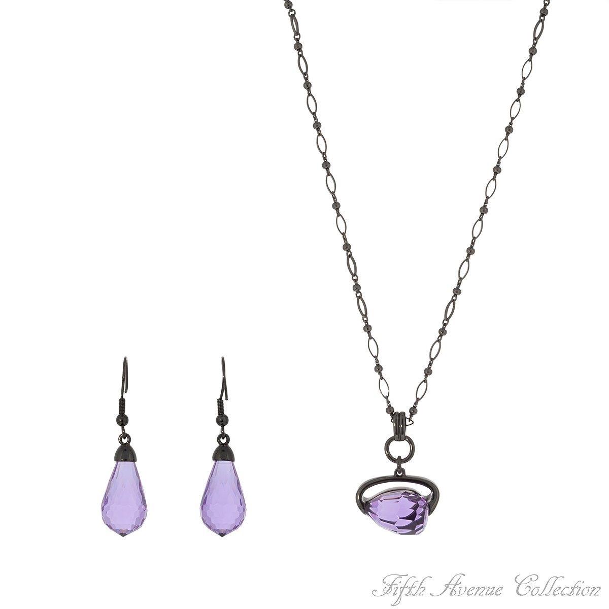 February - Amethyst - Purple Crystal